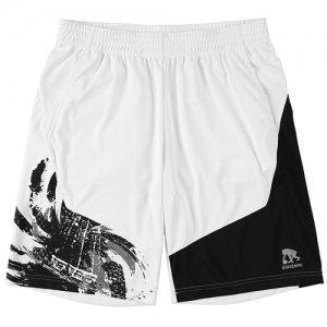 EGZARU(エゴザル) Hem Switching Toughness Shorts(ヘムスウィッチングタフネスショーツ/バスパン) 白/黒