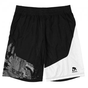 EGZARU(エゴザル) Hem Switching Toughness Shorts(ヘムスウィッチングタフネスショーツ/バスパン) 黒/白
