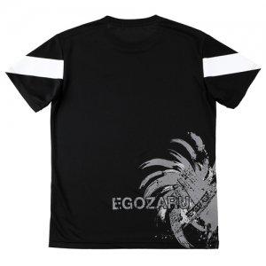 EGOZARU(エゴザル) Back Print Toughness Tee(バックプリントタフネスTシャツ) 黒/白