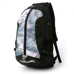 【バスケ用品が1つまとまる!!】SPALDING(スポルディング) Cager Backpack(ケイジャーバックパック/リュック) パームリーフ