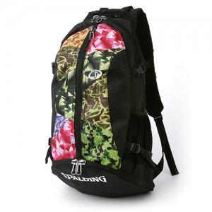 【バスケ用品が1つまとまる!!】SPALDING(スポルディング) Cager Backpack(ケイジャーバックパック/リュック) ミックスカモ