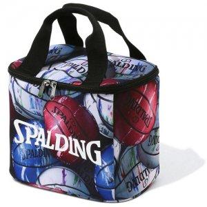 【ペットボトル6本収納】SPALDING(スポルディング) Cooler Bag(クーラーバッグ) マーブルボール柄