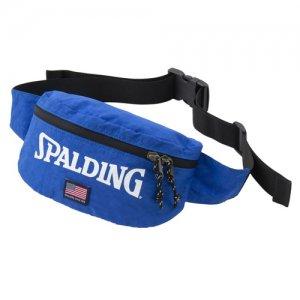 【流行りのボディバッグ!】SPALDING(スポルディング) Tail Bag(テイルバッグ) ブルー