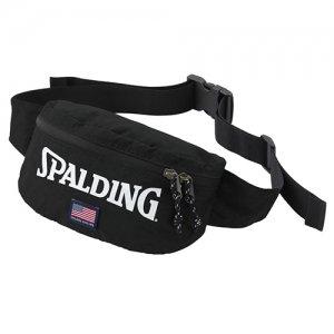 【流行りのボディバッグ!】SPALDING(スポルディング) Tail Bag(テイルバッグ) ブラック