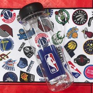 【水に濡らしてひんやり気持ちいい!】NBA Team Logo Bottled Cool Towel(NBAチームロゴボトルドクールタオル) 白