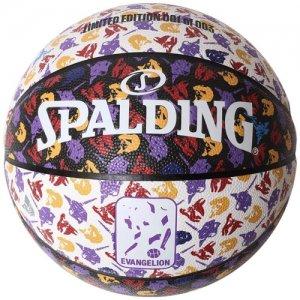 【SPALDING×RADIO EVA限定コラボ】SPALDING(スポルディング)  Radio EVA Composite Ball(ラジオエヴァ合成皮革ボール) EVAモノグラム
