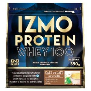 【生きた乳酸菌BC-30配合!日本人のためのプロテイン!!】IZMO(イズモ) Protein Whey100(プロテイン・ホーエイ100) 350g(約18食分)/カフェオレ