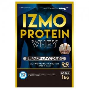 【生きた乳酸菌BC-30配合!日本人のためのプロテイン!!】IZMO(イズモ) Protein Whey100(プロテイン・ホーエイ100) 1kg(約50食分)/カフェオレ