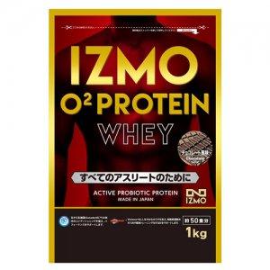 【生きた乳酸菌BC-30配合!日本人のためのプロテイン!!】IZMO(イズモ) O2 Protein Whey100(O2プロテイン・ホーエイ100) 1kg(約50食分)/チョコレート