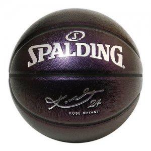 【SPALDING×KOBE 限定コラボ】SPALDING(スポルディング)  KOBE BRYANT Composite Ball(コービーブライアント合成皮革ボール) パープル
