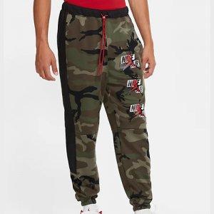 【限定入荷】JORDAN(ジョーダンブランド) Jumpman Classic Camo Fleece Pants(ジャンプマンクラシックカモフリースパンツ/スウェットパンツ) オリーブカモ