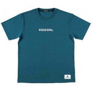 EGOZARU(エゴザル) LogoType Tee(ロゴタイプTシャツ) モンスーングリーン