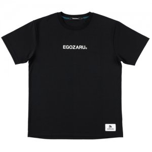 EGOZARU(エゴザル) LogoType Tee(ロゴタイプTシャツ) 黒