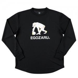 EGOZARU(エゴザル) Speed Logo Long Tee(スピードロゴロングTシャツ/ロンT) 黒