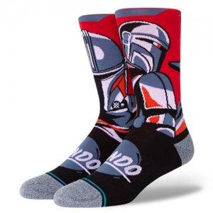 STANCE(スタンス) Beskar Steel Crew Socks(ベスカースティールクルーソックス/靴下) マンダロリアン