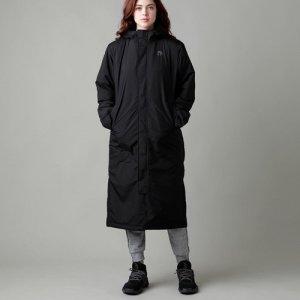 EGOZARU(エゴザル) Bench Coat(ベンチコート/ロングダウン/ジャケット/アウター) 黒