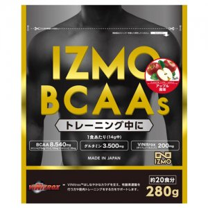 【トレーニングをより効果的に!日本人のためのサプリメント!!】IZMO(イズモ) BCAAs 280g(約20食分)/アップル