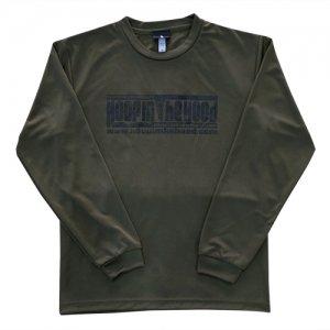 HITH(フープインザフッド/ヒス) Logo Dry Longsleeve Tee(ロゴドライロングスリーブTシャツ/ロンT)