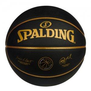 SPALDING(スポルディング) NBPA Players Composite Ball(NBPAプレイヤーズ合成皮革ボール) 黒/金