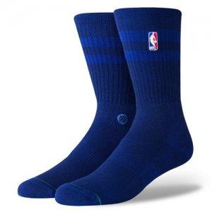 STANCE(スタンス) NBA Hoven Crew Socks(NBAホーベンクルーソックス/靴下) ブルー