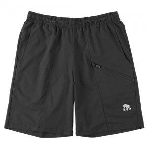 EGOZARU(エゴザル) Slant Zip Outcourt Pants(スラントジップアウトコートパンツ/バスパン) 黒