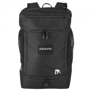 EGOZARU(エゴザル) Box Backpack40X(ボックスバックパック40X/リュック) 黒