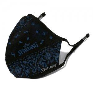 SPALDING(スポルティング) Bandana Face Mask(バンダナフェイスマスク) 黒