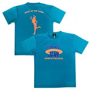 HITH(フープインザフッド/ヒス) SummerJam2 Dry Tee(サマージャム2ドライTシャツ) ターコイズブルー