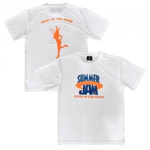 【大人気につき残り2枚!!!!】HITH(フープインザフッド/ヒス) SummerJam2 Dry Tee(サマージャム2ドライTシャツ) 白