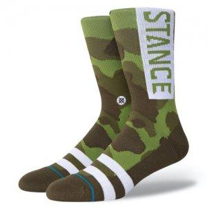 STANCE(スタンス) OG Crew Socks(OGクルーソックス/靴下) カモフラージュ