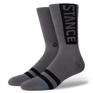 STANCE(スタンス) OG Crew Socks(OGクルーソックス/靴下) グラファイト