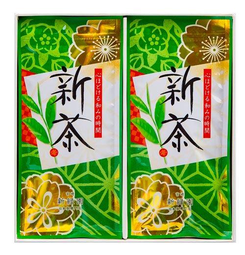 2017年 新茶ギフトセット(80g×2本...
