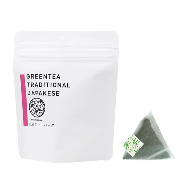 タグ付き煎茶ティーバッグ(3g×8p)