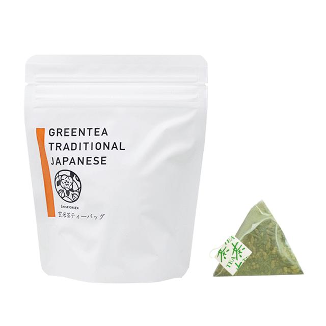 タグ付き玄米茶ティーバッグ(4g×10p)
