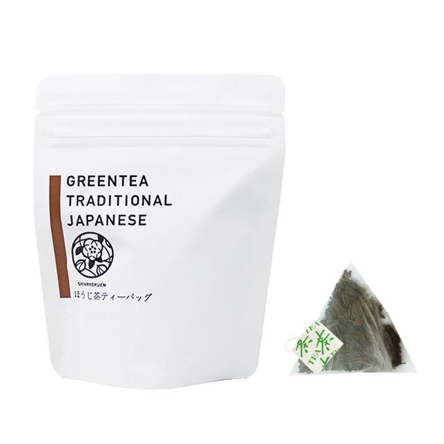 タグ付きほうじ茶ティーバッグ(2g×10p)