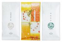 秋の詰め合わせセット(秋,特撰煎茶,特撰深蒸し)【レターパックライト】