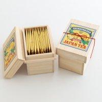 ミニ茶箱「空飛ぶお茶」煎茶ティーバッグ個包装(15p入)