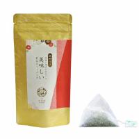 【金粉付き】急須で淹れたみたいに美味しい煎茶ティーバッグ(3g×10p)