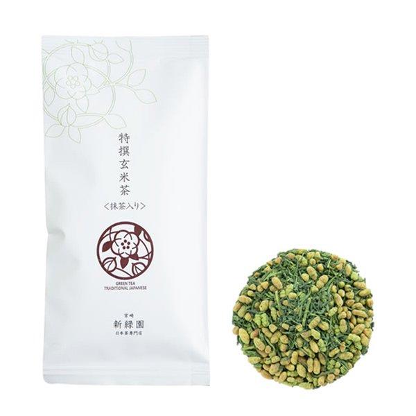 【GM7】特撰玄米茶(抹茶入り)80g