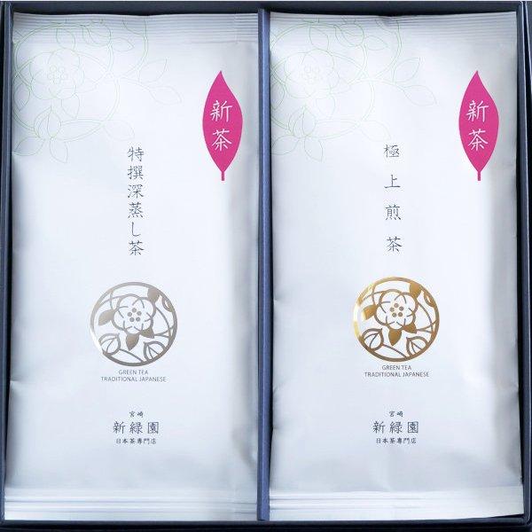 【GF29】極上煎茶100g 特撰深蒸し茶100g