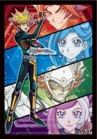 遊戯王 LINK VRAINS DUELIST SET デュエリストカードプロテクター70枚入り(Playmaker・Soulburner・ブルーメイデン・リボルバー・ゴーストガール)