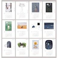 イラストレーター西 淑 2021年カレンダー