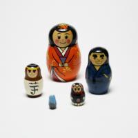 マトリョーシカ「薩摩のシンボル」