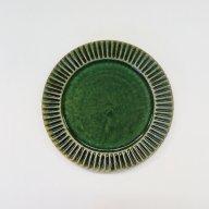 鎬 平皿 中(緑)