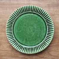 鎬 平皿 小(緑)