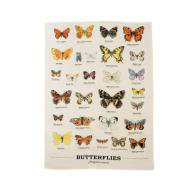 gift republic TEA TOWEL(Butterflies)