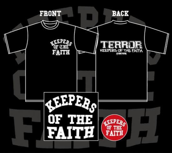 Terror keepers of the faith cd t