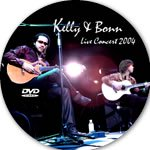 <img class='new_mark_img1' src='https://img.shop-pro.jp/img/new/icons14.gif' style='border:none;display:inline;margin:0px;padding:0px;width:auto;' />KELLY & BONN『Live Concert 2004』DVD-R