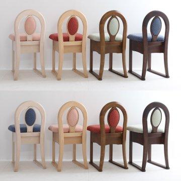 鏡台用椅子【タイプK】 アンティーク 選べるカラーとファブリック