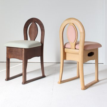 タイプKチェア(鏡台椅子・座面収納)鏡台用椅子ドレッサーチェアー